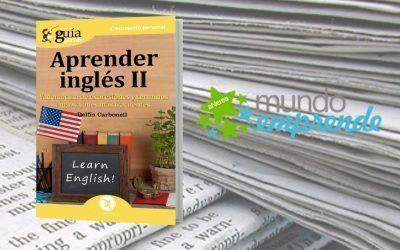 El «GuíaBurros: Aprender Inglés II» en el medio escrito Mundo Emprende
