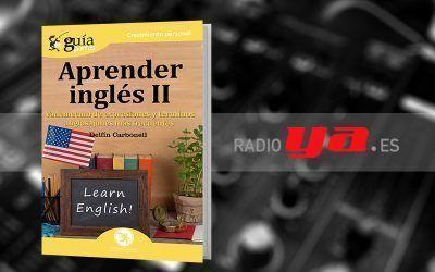 Delfín Carbonell con su «GuíaBurros: Aprender Inglés II» en «Colaborum», en RadioYa